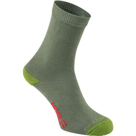 Craghoppers NosiLife Travel Chaussettes Single Enfant, dark khaki